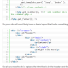 Code On A Web Page